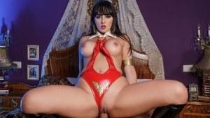 Vampirella A XXX Parody VRCosplayX Alba De Silva vr porn video vrporn.com virtual reality