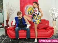 Cheerleading Coach VRHush Brooke Haze Michael Vegas vr porn video vrporn.com virtual reality