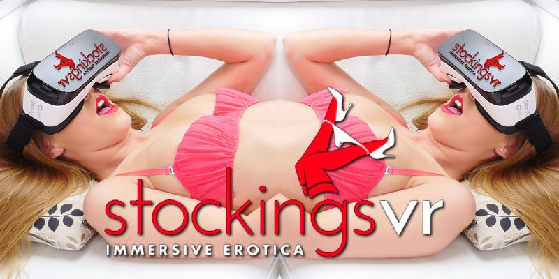 StockingsVR Launches on VRPorn.com stockingsvr vr porn blog virtual reality