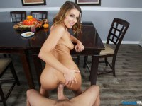 Thanksgiving Stuffing BaDoinkVR Adriana Chechik vr porn video vrporn.com virtual reality