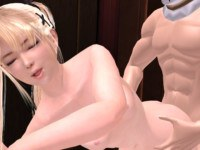 Dead or Alive - Marie Rose Against the wall CGI Girl Lewd FRAGGY vr porn video vrporn.com virtual reality