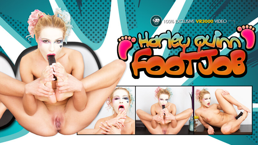 Harley Quinn Footjob - Serbian Hot Chick JOI Porno