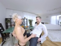 Pussy For Dinner MatureReality Kathy White vr porn video vrporn.com virtual reality