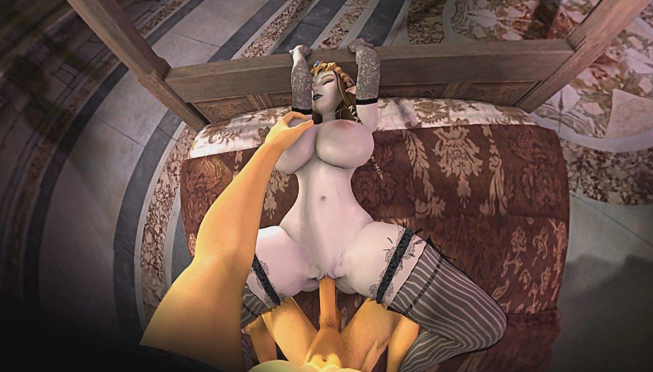 Legend zelda xxx of link