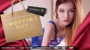 Shopping Day - Misha And Her Bag of Surprises VirtualRealPorn Miguel Zayas VR porn video vrporn.com