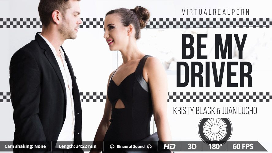 Be My Driver - Kristy Black Hardcore VR Sex