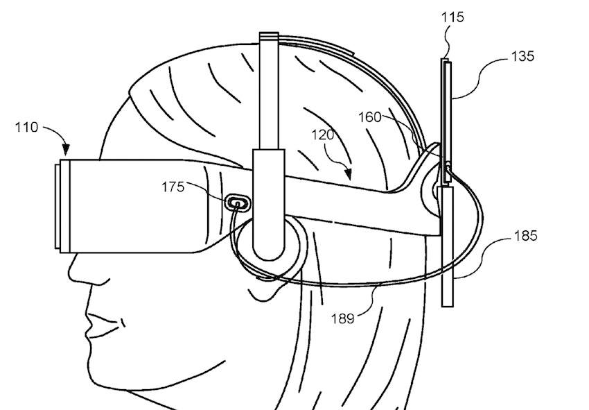 Oculus Files Patent for a Convertible HMD Powered by PC or Phone uploadvr.com vr porn blog virtual reality