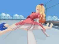 Waifu 360 - #080 Yamada Elf Rooftop Ride hotvr hentai girl vrporn video vrporn.com virtual reality