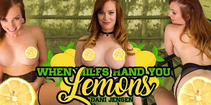 Redhead MILF Dani Jensen Hands You the Lemons milfvr vr porn blog virtual reality