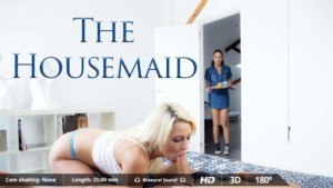 The Housemaid - Relax And Let These Slaves Work VirtualRealPorn Sienna Day Carolina Abril VR porn video vrporn.com