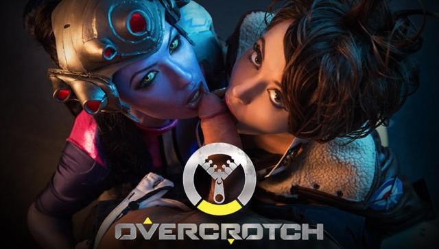 Overcrotch VRcosplayx Zoe Doll Alexa Tomas vr porn video vrporn.com virtual reality