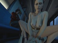 Resident Evil – Excella's Train Ride DarkDreams cgi girl vr porn video vrporn.com virtual reality