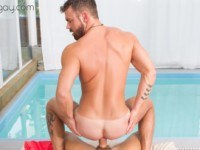 [Gay] Pool Boy Seduction VRBGay Logan Moore vr porn video vrporn.com virtual reality