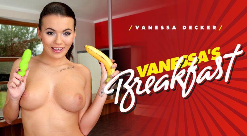 Vanessa's Breakfast - Euro Chick Masturbation VR