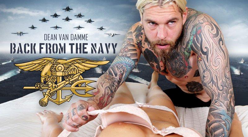 [For Women] Back From The Navy - Dean Van Damme VR Fuck For Women