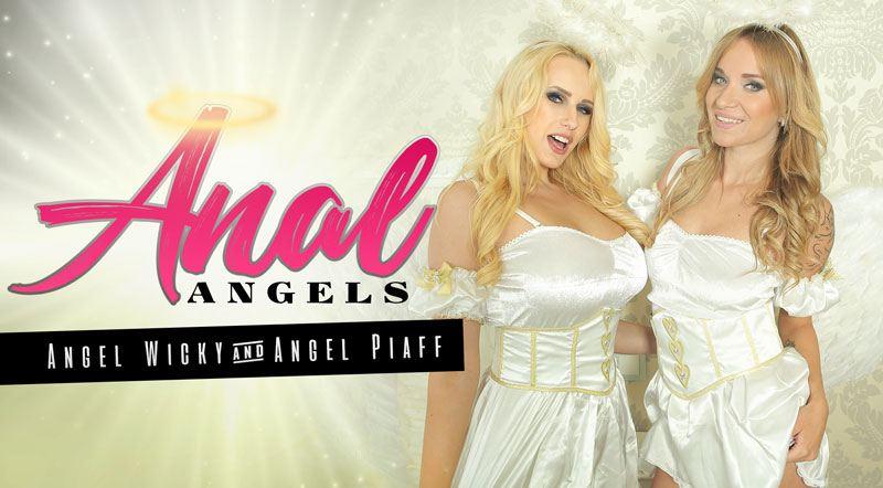 Anal Angels - Busty Chicks Angel Wicky and Angel Piaff XXX
