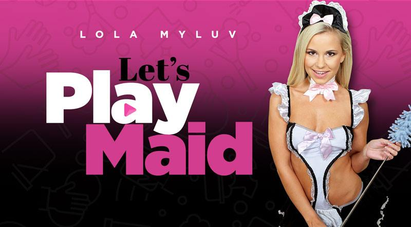 Let's Play Maid - Cute Blonde VR Girl Friend Experience