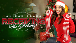 Receiving The Stockings RealityLovers Amirah Adara vr porn video vrporn.com virtual reality