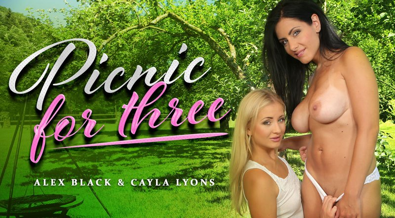 Picnic For Three - Outdoor Threesome