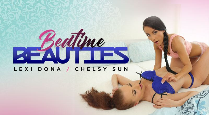 Bedtime Beauties - Chelsy and Lexi Hot Lesbian Sex
