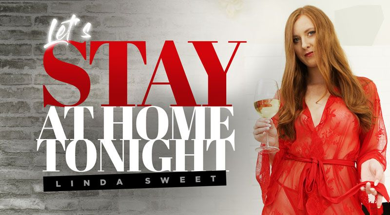 Let's Stay At Home Tonight - Drilling Sexy Red Head VR