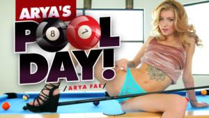 Arya's Pool Day! RealityLovers Arya Fae vr porn video vrporn.com virtual reality