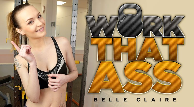 Work That Ass! - Sexy European Belle Claire POV