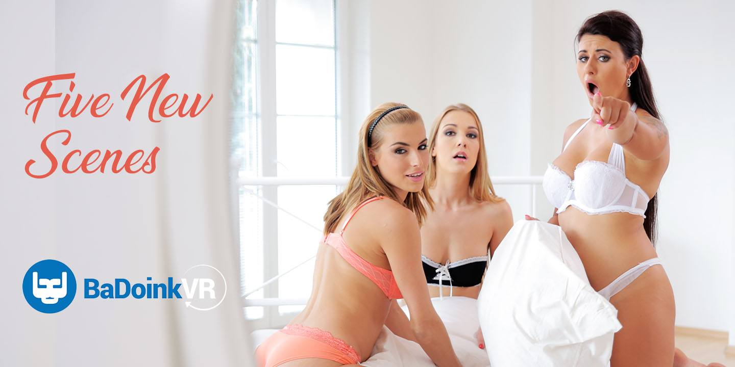New on Premium - Five More Scenes from BaDoinkVR! vr porn blog virtual reality