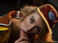 Final Fantasy Cindy Aurum A XXX Parody VRCosplayX Katrin Tequila vr porn video vrporn.com virtual reality