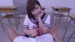 Japanese School Girl Gives You a Special Gift jvrporn Mizuki_Hayakawa vr porn video vrporn.com virtual reality