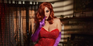 Jessica Rabbit A XXX Parody VRCosplayX Blondie Fesser vr porn video vrporn.com virtual reality