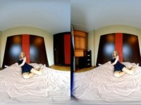 Blonde Teen In Pantyhose Makes You Hot VRPussyVision vr porn video vrporn.com virtual reality