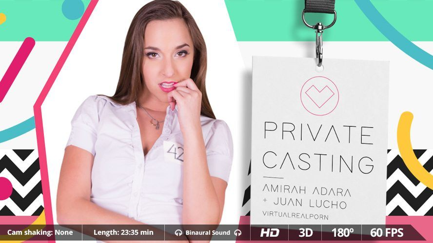 Private Casting - Teen Pornstar Does VR Anal