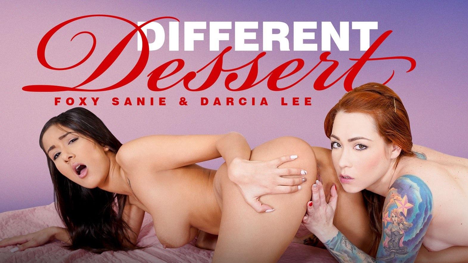 Different Dessert POV - Darcia Lee & Foxy Sanie VR Threesome