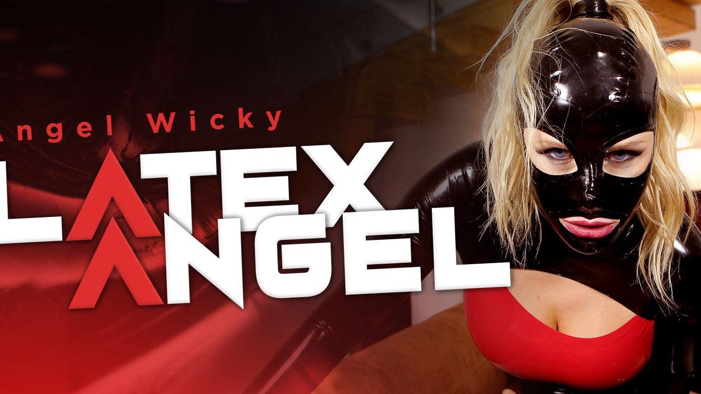 Latex Angel POV - Czech Blonde Virtual Reality BDSM