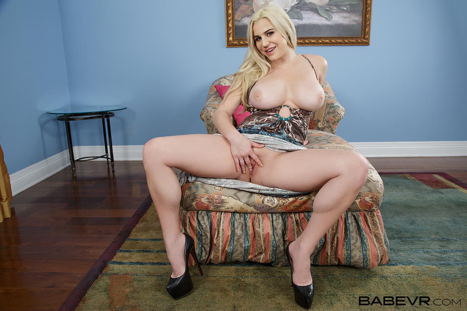 Babevr blonde babe sasha heart introduces you with anal sex 6