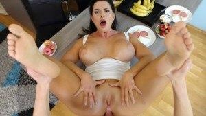 Virgin Ass For Breakfast VirtualTaboo Chloe Lamur vr porn video vrporn.com virtual reality