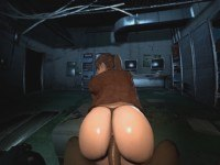 Resident Evil - Claire's Making That Ass Bounce DarkDreams vr porn video vrporn.com virtual reality