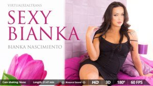 Sexy Bianka VirtualRealTrans Bianka_Nascimiento vr porn video vrporn.com virtual reality