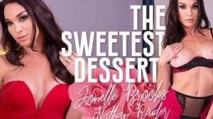 The sweetest dessert VirtualRealTrans Jonelle_Brooks Nathan_Raider vr porn video vrporn.com virtual reality