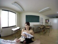 Madoka Kouno - Busty Teacher Gives Me A Titjob ZenraVR Madoka Kouno vr porn video vrporn.com virtual reality