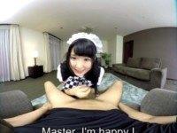 Azuki - My Own Personal Maid ZenraVR Azuki vr porn video vrporn.com virtual reality