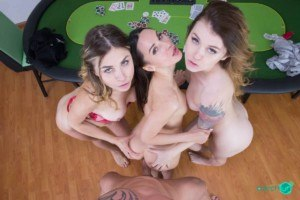 Triple the Time: Three VR Porn Babes Hot Sex czechvr vr porn blog virtual reality