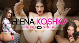 "Elena Koshka - ""The"" Girlfriend Experience Part I wankzvr vr porn blog virtual reality"