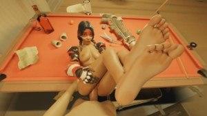 Overwatch Pharah Anal PoV (With Sound) MetsSFM vr porn video vrporn.com virtual reality