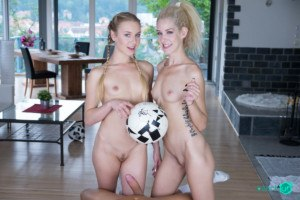 VR Porn Threesome Reviews: The Lucky Famous Football Player czechvr vr porn blog virtual reality