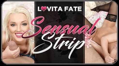 Sensual Strip POV - Tight Euro Bitch Lovita Fate XXX