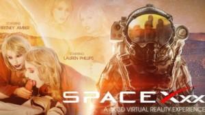 SpaceXXX VR Bangers Britney Amber Lauren Phillips vr porn video vrporn.com virtual reality