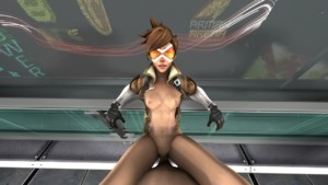 Fuck Tracer in different positions ( Overwatch ) HornyRoger vr porn video vrporn.com virtual reality