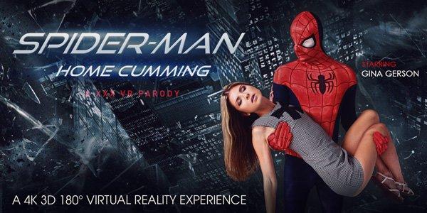 Spider-Man: Home Cumming (A XXX VR Parody)